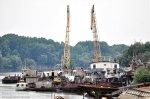 Бендерский речной порт проинспектировала комиссия по работе с госпредприятиями