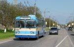 Сегодня утром на один час было прекращено троллейбусное сообщение между приднестровскими <? print(123); ?>ами Тирасполем и Бендерами