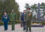 В День защитника Отечества в Бендерах на «Мемориале воинской славы» состоялись митинг и торжественная церемония возложения цветов