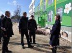 В Бендерах проверили ход строительства здания МОУ «Детский сад №33»