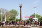 Государственная администрация благодарит руководителей предприятий за активное участие в строительстве стелы «Город Воинской Славы»