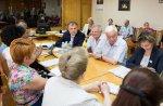 В Бендерах прошло выездное совещание Президента Республики с представителями Совета директоров предприятий <? print(123); ?>а