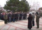 22 призывника из Бендер пополнили ряды Вооруженных Сил Приднестровья