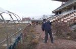 На стадионе «Динамо» начались подготовительные работы к ремонту