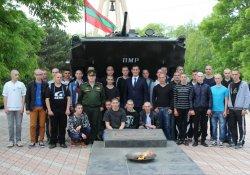 Призывники из Бендер пополнили ряды Вооруженных Сил Приднестровья