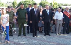 Бендерчане почтили память погибших во времена Великой Отечественной войны