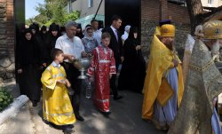 Роман Иванченко посетил праздничное богослужение в День памяти первоверховных апостолов Петра и Павла