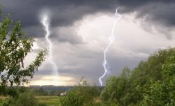 Непогода, разразившаяся на выходных, не принесла особого ущерба городу