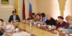Глава города провел очередную встречу с общественниками