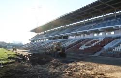 Председатель Правительства посетил реконструирующийся стадион «Динамо»