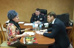 Министр внутренних дел ПМР провел выездной прием в Бендерах