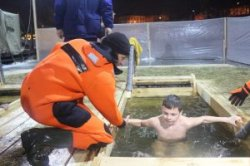 Рекомендации населению при Крещенских купаниях