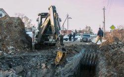 Порыв водовода по ул. Железнодорожная