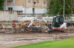 Реконструкция стадиона и бассейна в Бендерах на личном контроле Президента Приднестровья