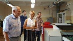Госслужба СМИ посетила Бендерскую типографию «Полиграфист»