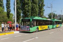По маршруту № 5А проехал первый троллейбус