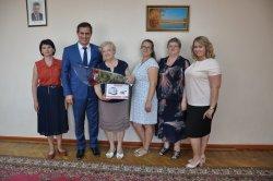 На заслуженный отдых проводили секретаря городского Совета народных депутатов