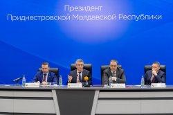 Роман Иванченко принял участие в совещании у Президента ПМР
