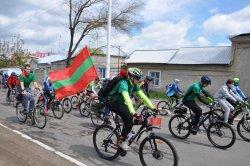 Участники II Международного веломарша «Знамя Победы» посетили город Бендеры