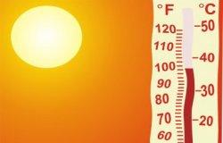 Штормовое предупреждение и жара