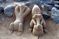 В рамках открытия нового городского пляжа пройдет конкурс на лучшую фигуру из песка