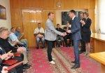 Николай Глига объявил благодарность участникам строительства стелы «Город воинской Славы» и организаторам праздничных мероприятий 9 мая