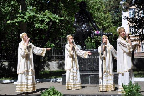 В Бендерах отметили пушкинский день