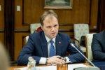 Евгений Шевчук встретился с Дмитрием Рогозиным в столице Российской Федерации