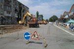 Строительство парковки в районе центрального рынка вступило в завершающую стадию