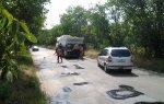 Ремонт дороги в селе Гиске по новой технологии продолжается