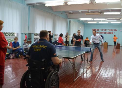 В Бендерах состоялся парный турнир по настольному теннису «Равные возможности»