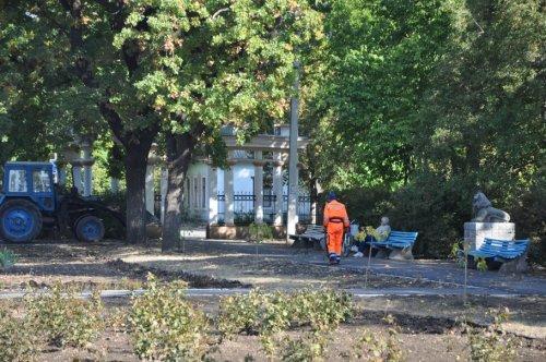В Бендерах реставрируют парк им. Горького