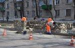 В микрорайоне «Ленинский» благоустраивают  мусорные площадки