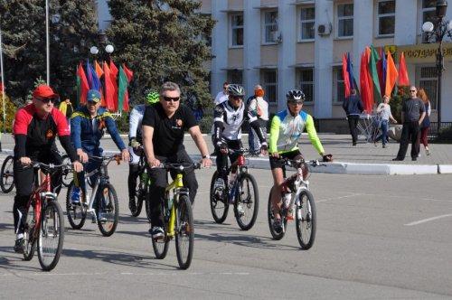 В Бендерах состоялся масштабный велопробег, посвященный Дню Победы