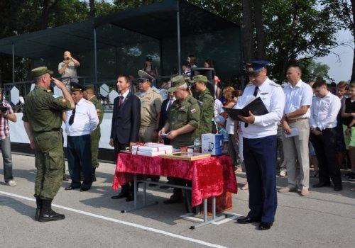 В расположении батальона Совместных миротворческих сил прошел праздничный митинг
