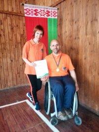 Бендерский параспортсмен завоевал золото на открытом Чемпионате Белоруссии