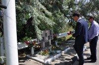 Бендерская делегация возложила цветы к могилам павших героев в Тирасполе и Парканах