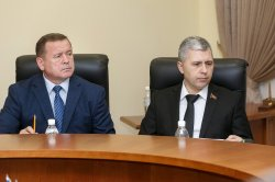 Глава Бендер рассказал Президенту о положении дел в городе