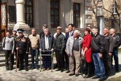 Награды членам организации «Бендерские инвалиды войны — защитники Приднестровья»