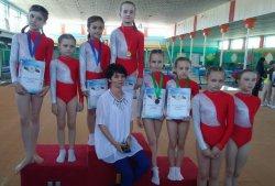 Бендерские гимнастки завоевали медали на Первенстве Приднестровья