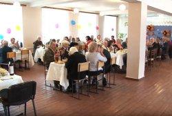 В Бендерах для ветеранов войны организовали праздничный обед