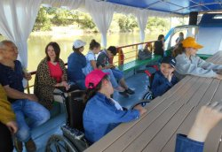 Экскурсия на теплоходе для детей с ограниченными возможностями