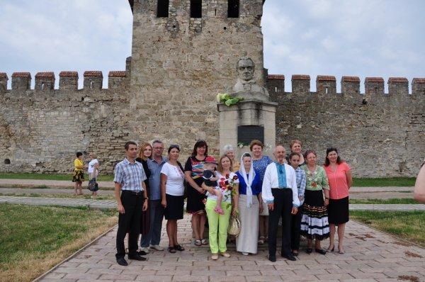В Бендерской крепости вспоминали первую Конституцию Украины