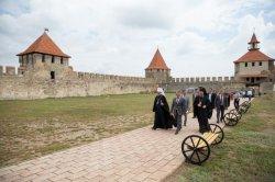 Митрополит Кишиневский и всея Молдовы Владимир посетил Бендерскую крепость и Военно-исторический мемориальный комплекс