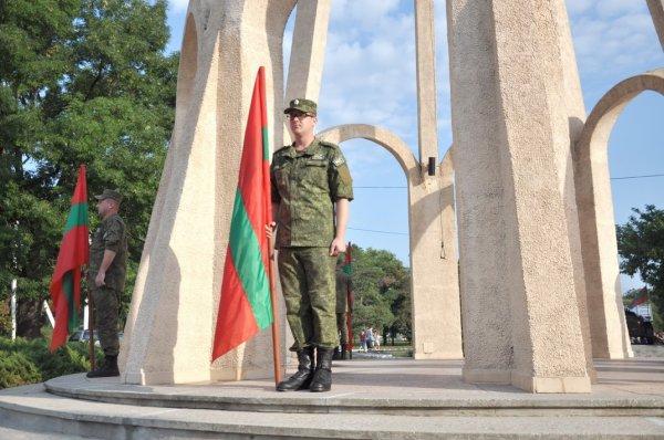 В Бендерах почтили память защитников Приднестровья