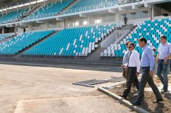 Работы на стадионе «Динамо» будут завершены к 31 августа