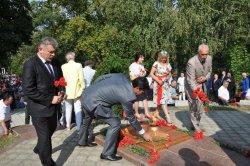 Роман Иванченко поздравил жителей Каменки с 410-летием со дня основания города