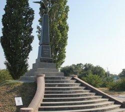 У памятника Русской славы появился QR-код