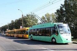 Информация о работе троллейбусов 9 сентября
