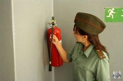 В кадетском корпусе прошли учения по экстренной эвакуации
